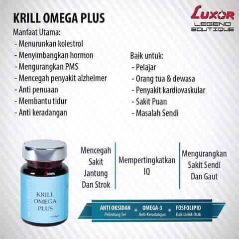 Krill Omega Plus LUXOR