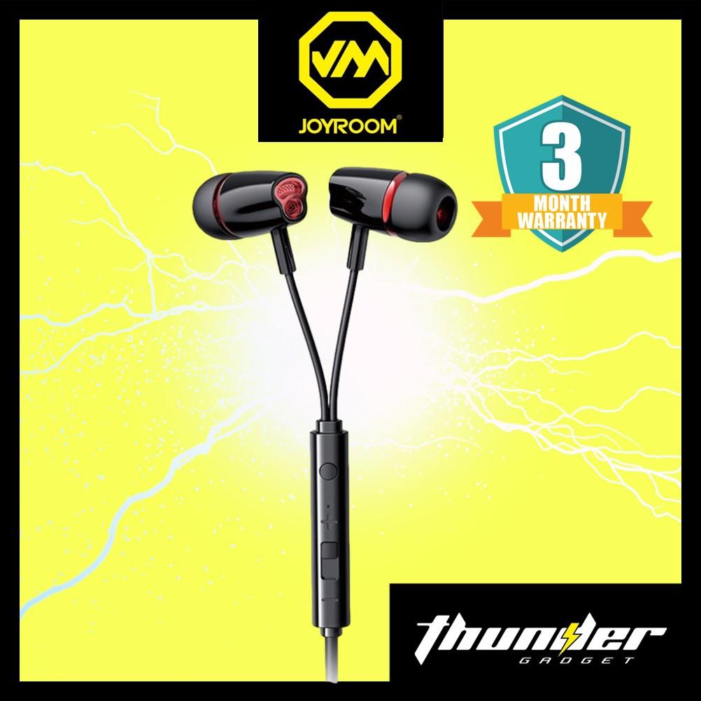 JOYROOM JR-EL114 3.5mm Wired In-ear Stereo Earphones for PC Phone Universal