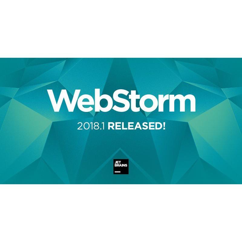 JetBrains WebStorm 2018/2019 (x32/x64) | Software | Shopee