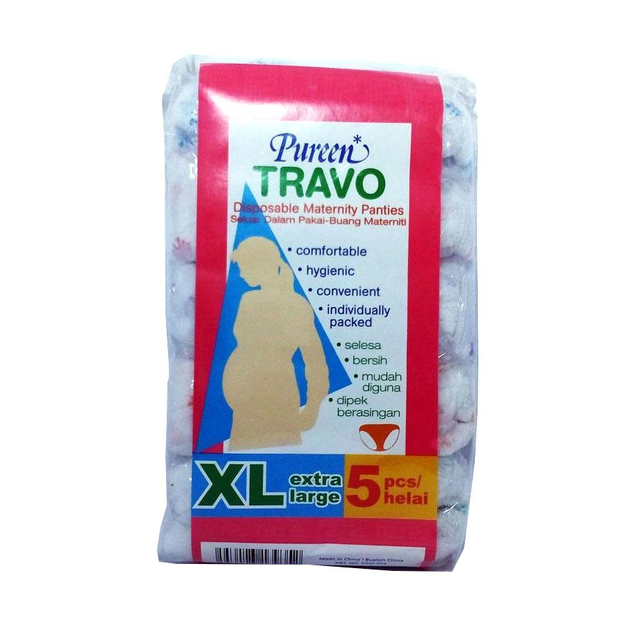 Pureen Travo Disposable Maternity Panties - XL (5 Pcs)