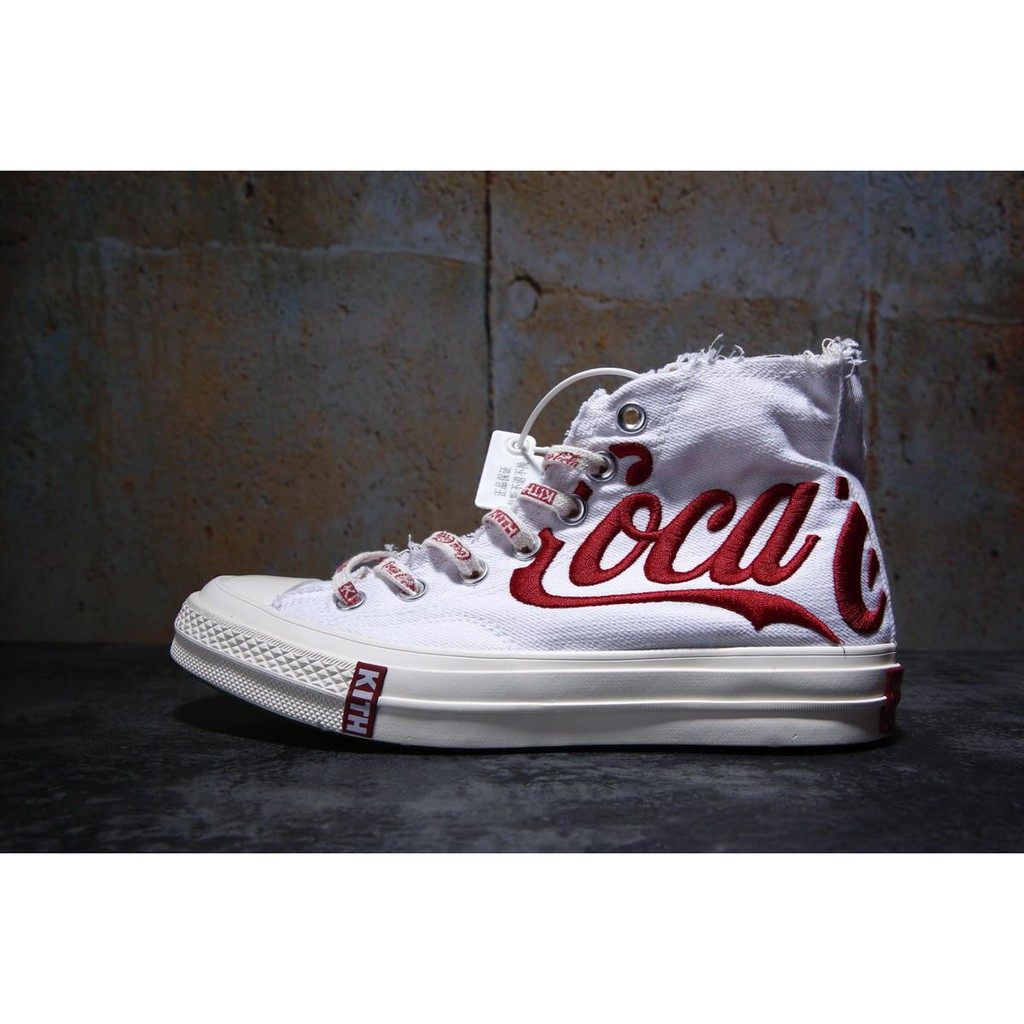43c70be0 KITH x Coca-Cola x Converse men's and women's shoes | Shopee Malaysia
