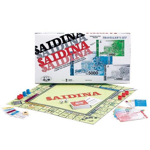 Saidina Traveller SPM78 (BM/Eng) Boardgame Millionaire/Jutaria SPM 78