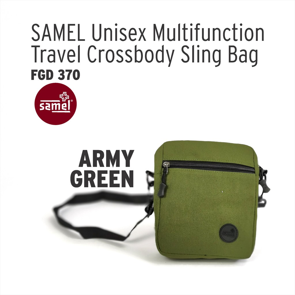 FGD 370 UNISEX MULTI-FUNCTION TRAVEL CROSS-BODY SLING BAG