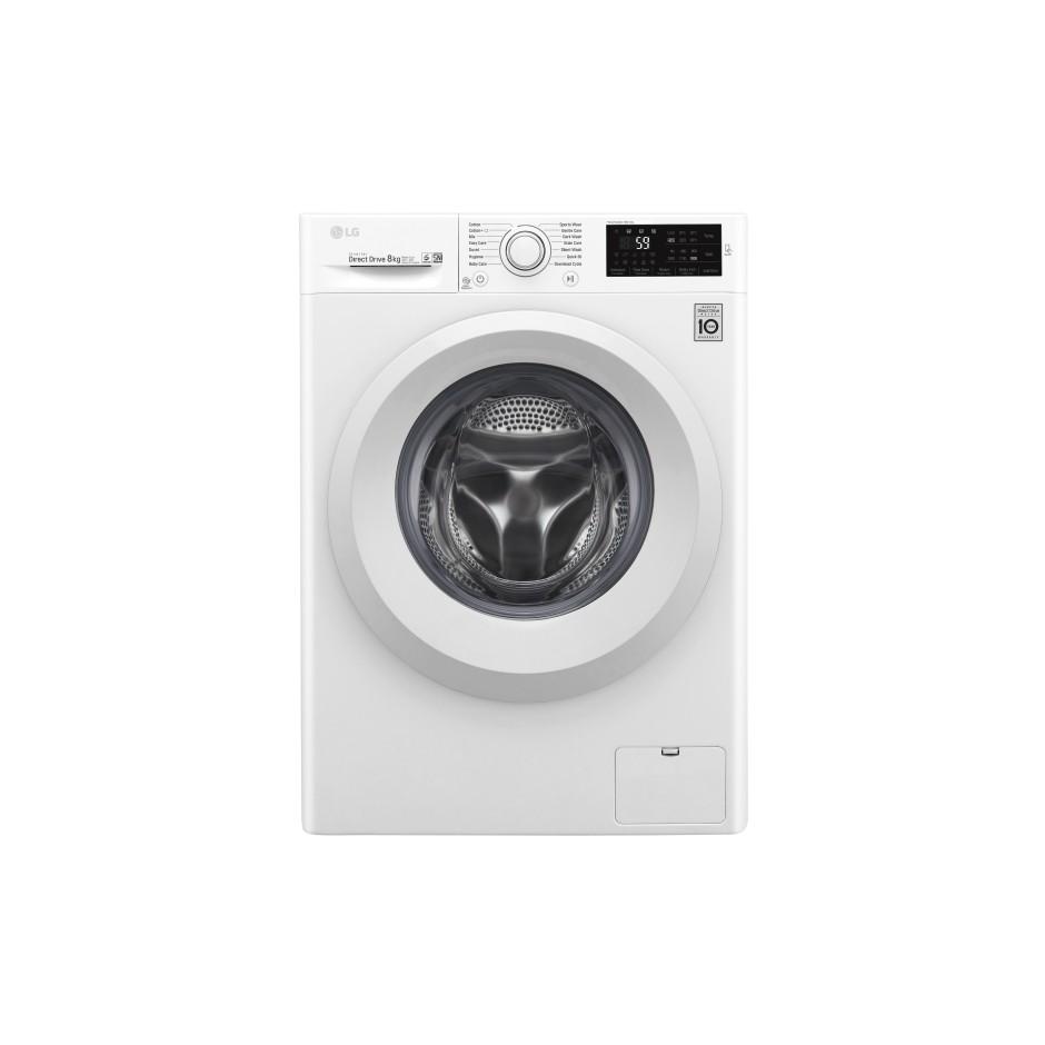 LG FC1208N5W 8kg, 6 Motion Inverter Direct Drive Washing Machine