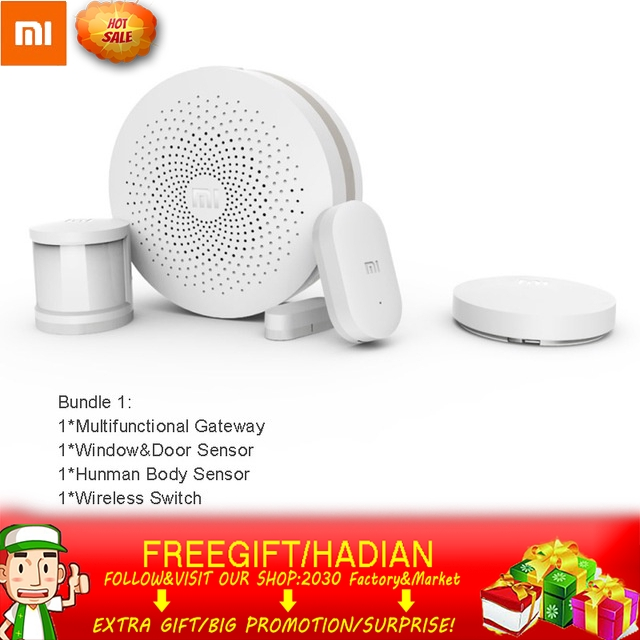 🇲🇾⭐️(Bundle)Xiaomi Smart Home Kit Mijia Gateway