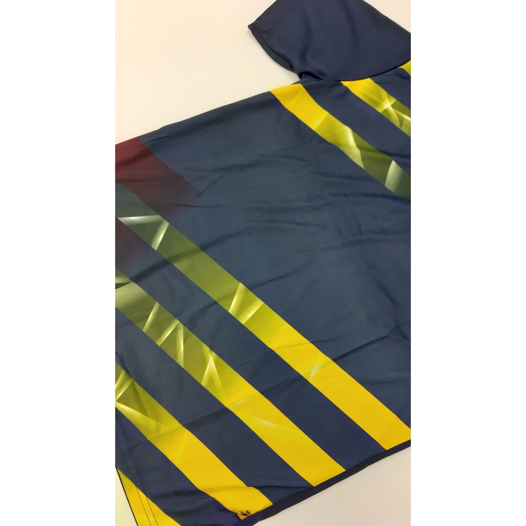 【100% Original】ARORA SPORTS Unisex Sublimation Jersey Quick-Dry Tee - Navy / Purple (STP 15 - 16)