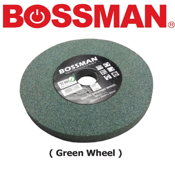 BOSSMAN  BENCH GRINDING WHEEL ACCESSORIES EASY USE SAFETY GOOD QUALITY