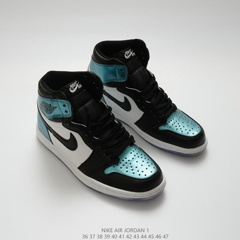 official photos 0f627 fd0d6 *Original*NIKE Air Jordan 1 OG Chameleon Aj1 high basketball shoes 36-46