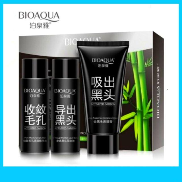 BIOAQUA Blackhead Remover Mask/Acne Treatment/Deep Cleansing 3in1 SET
