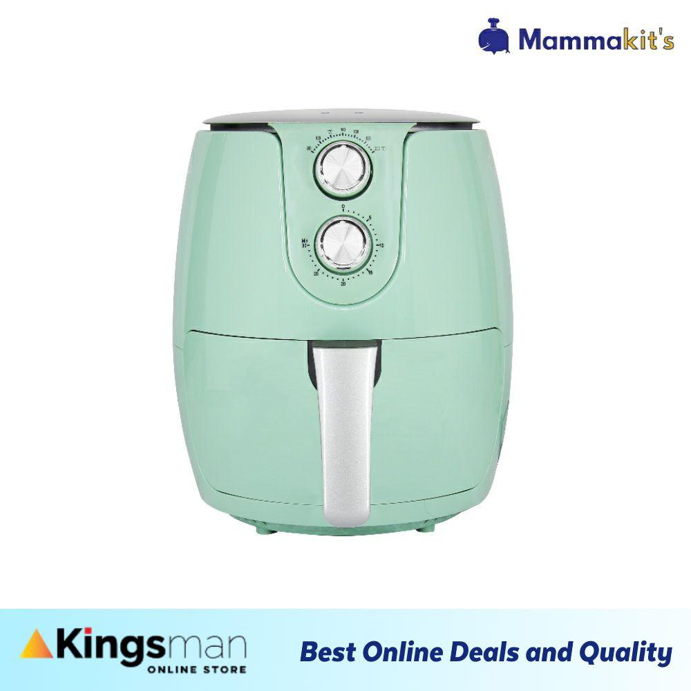 [Kingsman] Mammakits Air Fryer 3.5L Super Turbo 1500W Oil Free Non-Stick Inner Timer Kitchen Healthy Smart Cooker多功能空气炸锅