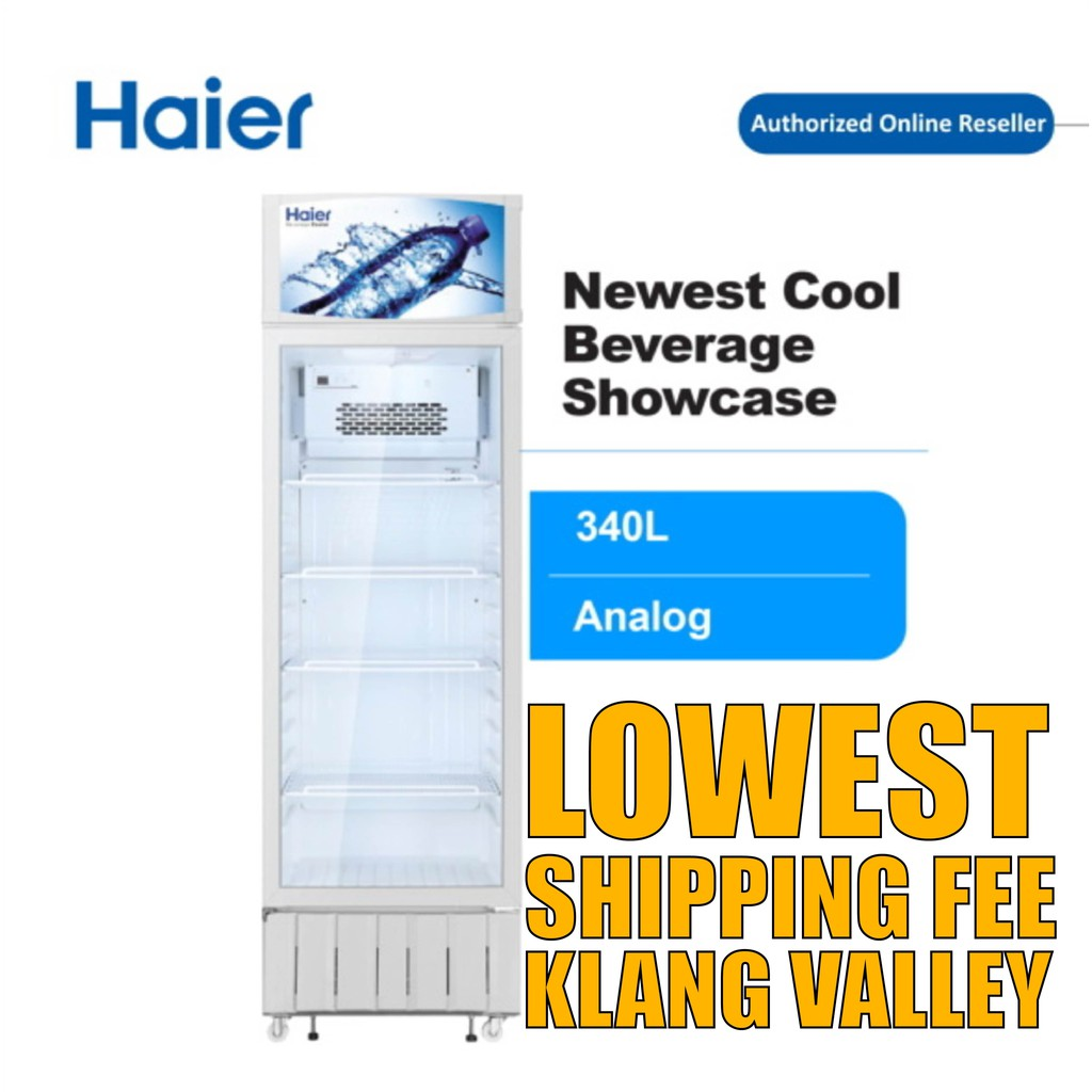 Haier SC-348 340L Show Case Display Chiller with R600a Refrigerant