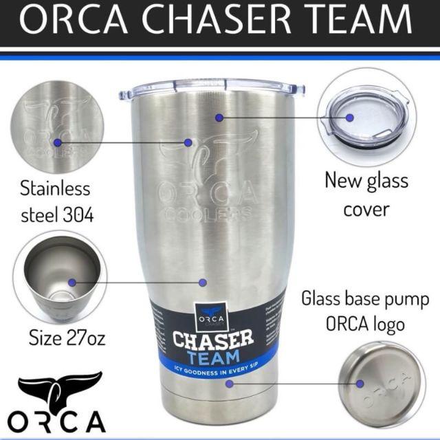 orca chaser cafe 20oz /27 oz. แก้วเก็บความเย็น 18-