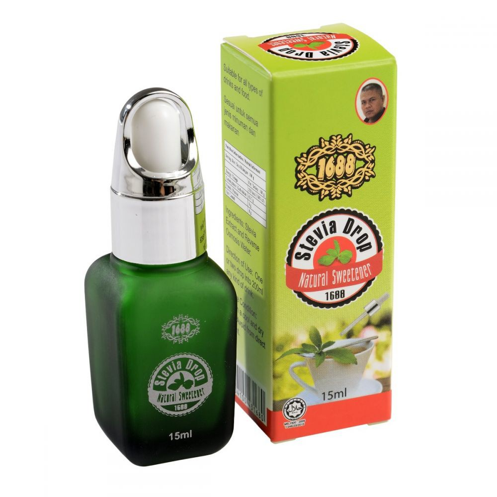 HS Stevia Natural Drops (15ml)