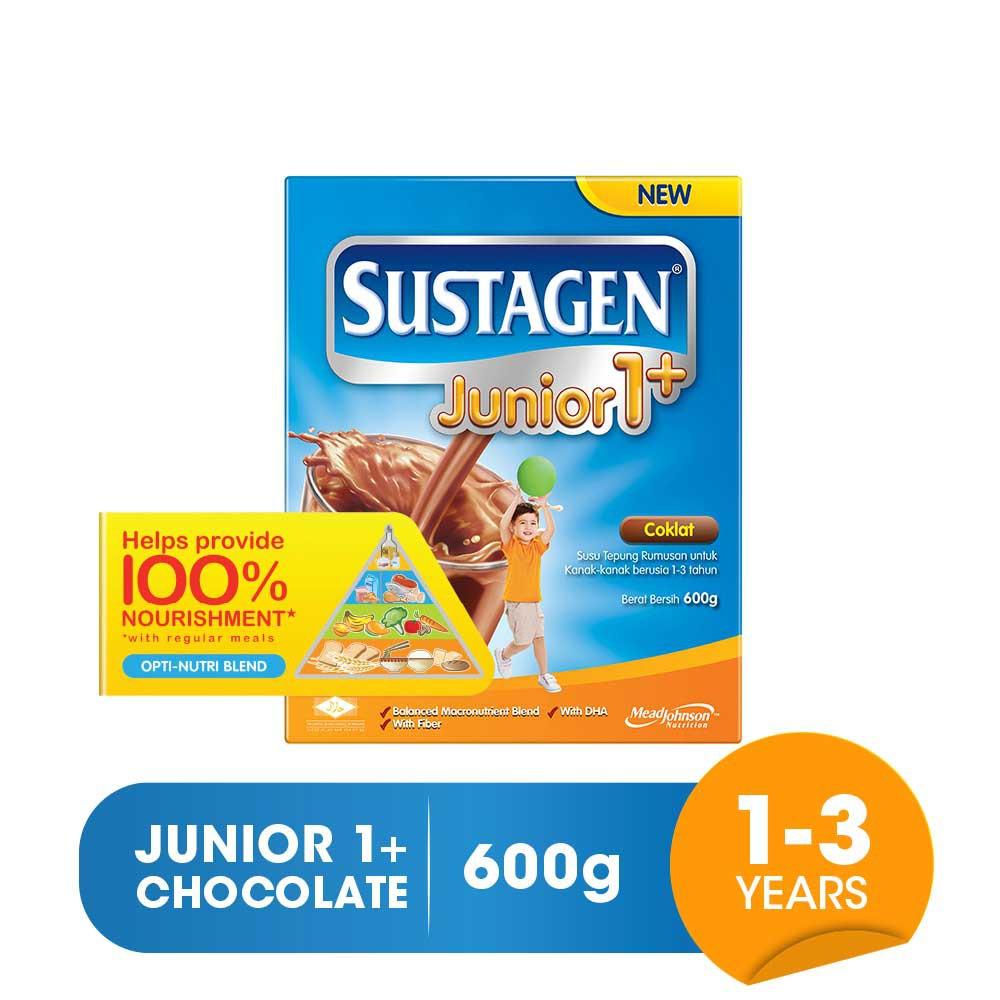 Sustagen Junior 1+ (600g) - Milk Formula