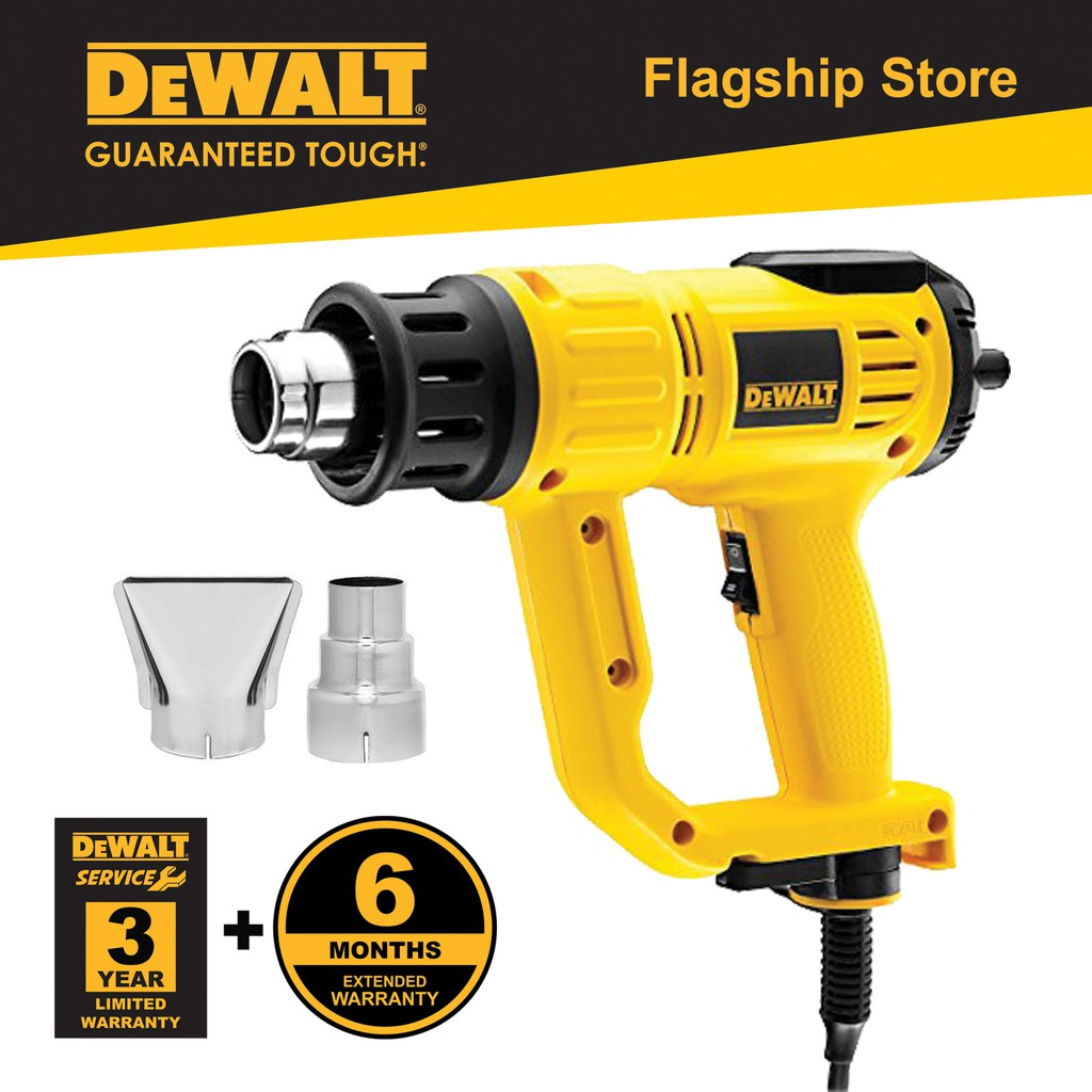 Dewalt D26414-B1 2000W 50 - 630°C Digital Heat Gun