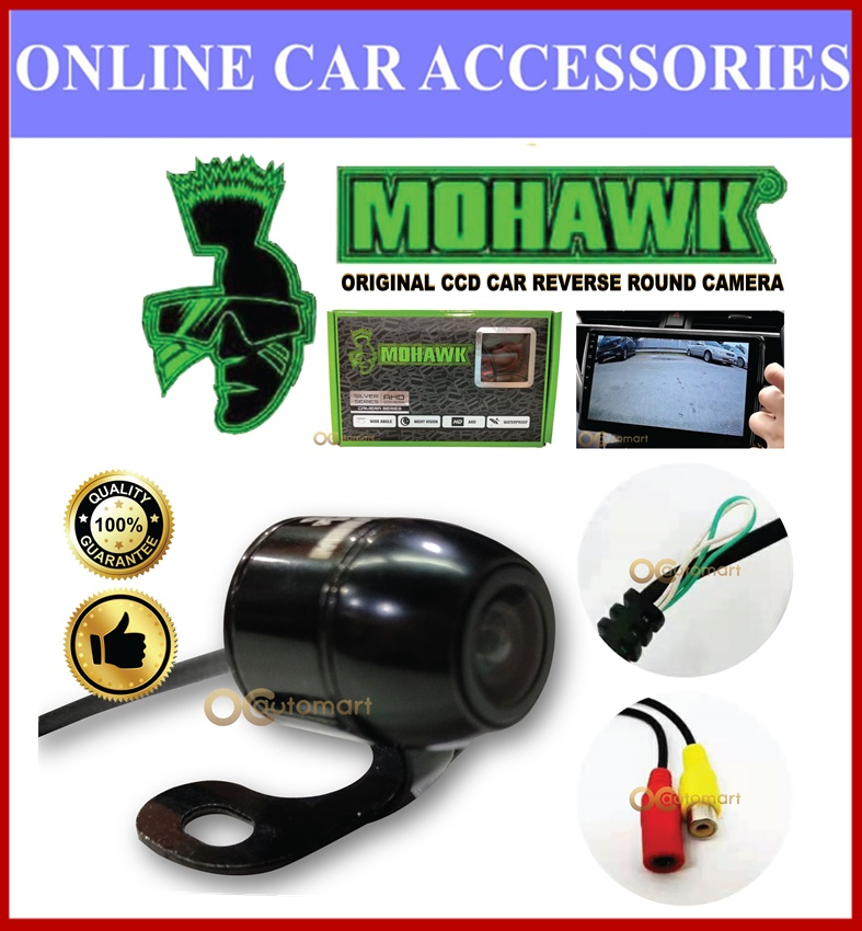 Mohawk CCD Front And Rear View Reverse Round Camera ME-CC16