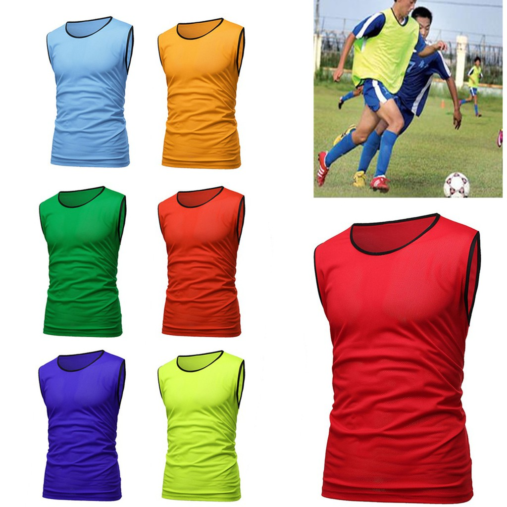 cd46eedbd Scrimmage Vests Soccer Basketball Team Training Adult & Youth Pinnies  Jerseys | Shopee Malaysia