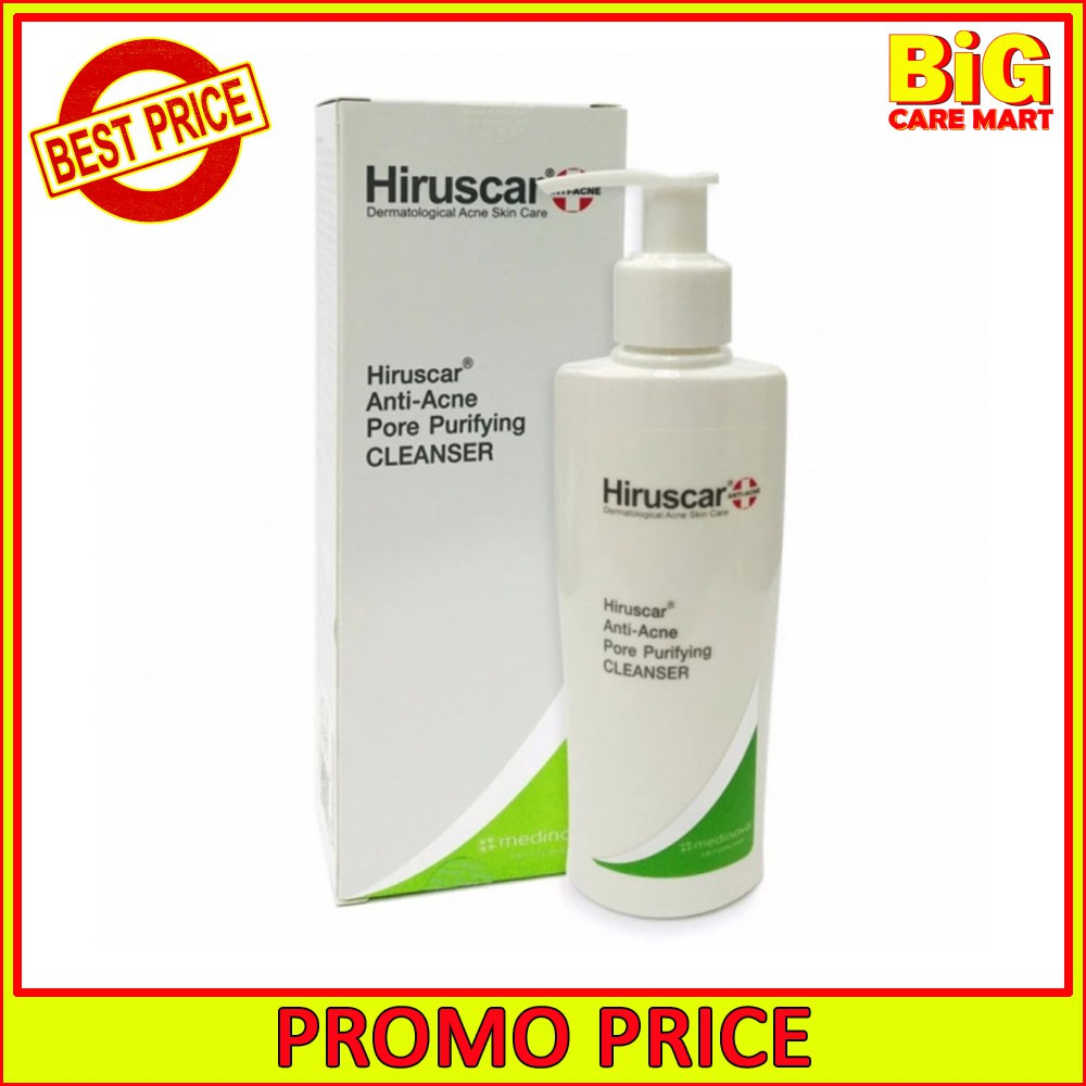 Hiruscar Anti-Acne Pore Purifying Cleanser 100ml