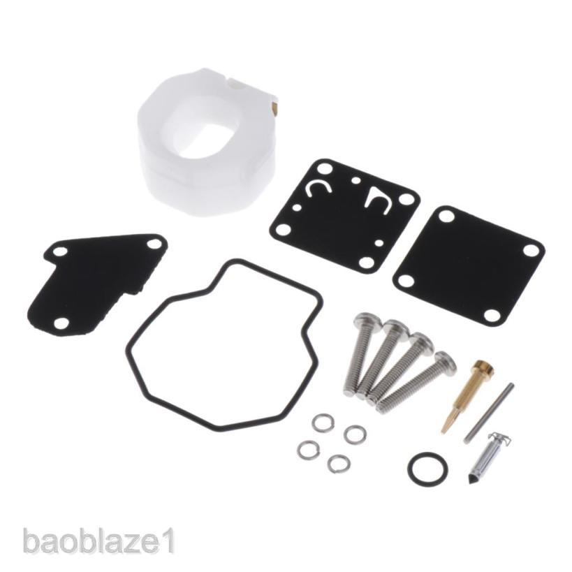 6E3-W0093-00 01 Carburetor Carb Repair Kit for Yamaha Outboard 4HP 5HP 4M 5M 2T
