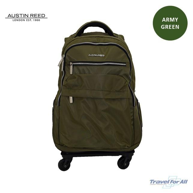 Austin Reed Wheeled Laptop Backpack 18 Shopee Malaysia