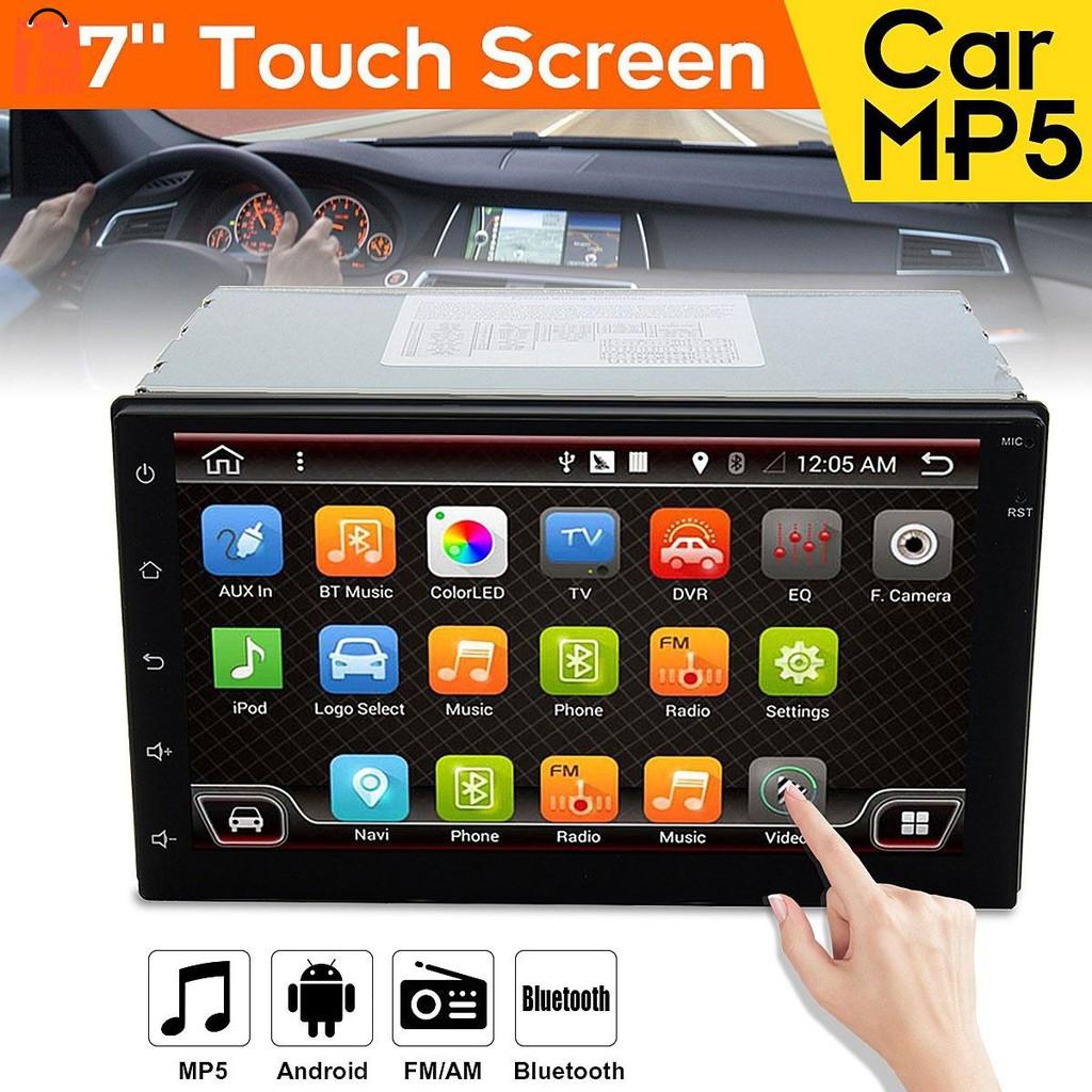 Mp5 Player Car Smart Premium 7 Inches Touch Screen Automobile Box Modul Mp3 Plus Aksesories Wifi Shopee Malaysia