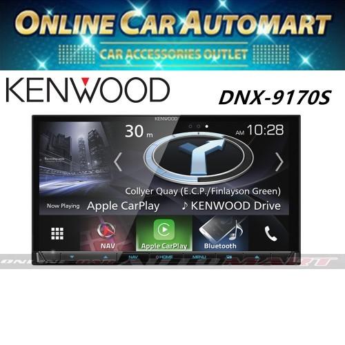 "Kenwood DNX9170S 7"" Garmin,Apple Carplay,Android Auto & Buld-in Mirror Link"