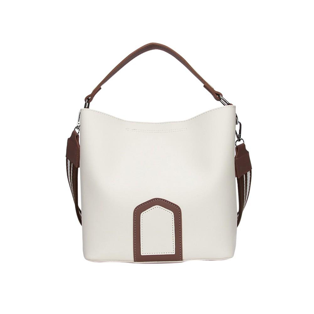 185d348ea05 Fashion Women Ladies PU Leather Handbag Messenger Shoulder Bag Large Tote  Bag   Shopee Malaysia