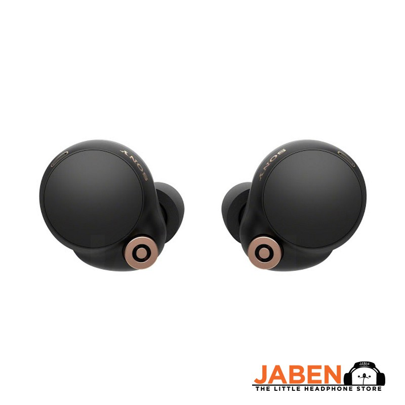 Sony WF-1000XM4 Active Noise Cancelling Comfortable Foam Tips Type-C Charging App Support TWS In-ear Earphones [Jaben]