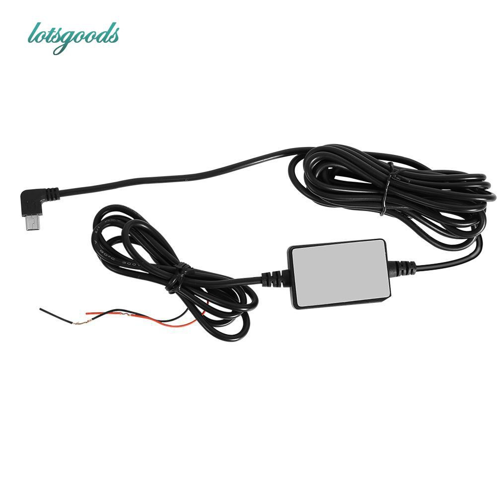 🔥bestProfessional Quelima DC 12V to 5V Inverter Mini USB Hard Wired on
