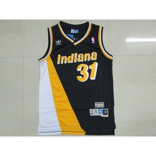 HOT Indiana Pacers Retro Mesh Blue Basketball Shorts Size S-XXL
