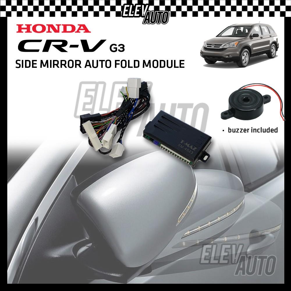 Side Mirror Auto Fold with Buzzer Honda CR-V CRV G3 2007-2012