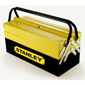 "93-545 STANLEY 18"" 5-TRAY CANTILEVEL METAL TOOL TOOLS BOX STORAGE CASING"