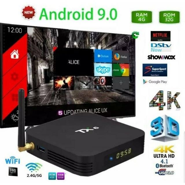 (New2020) Tx6 Tvbox 4K Resolutions 2G 16GB/ 4G 32GB