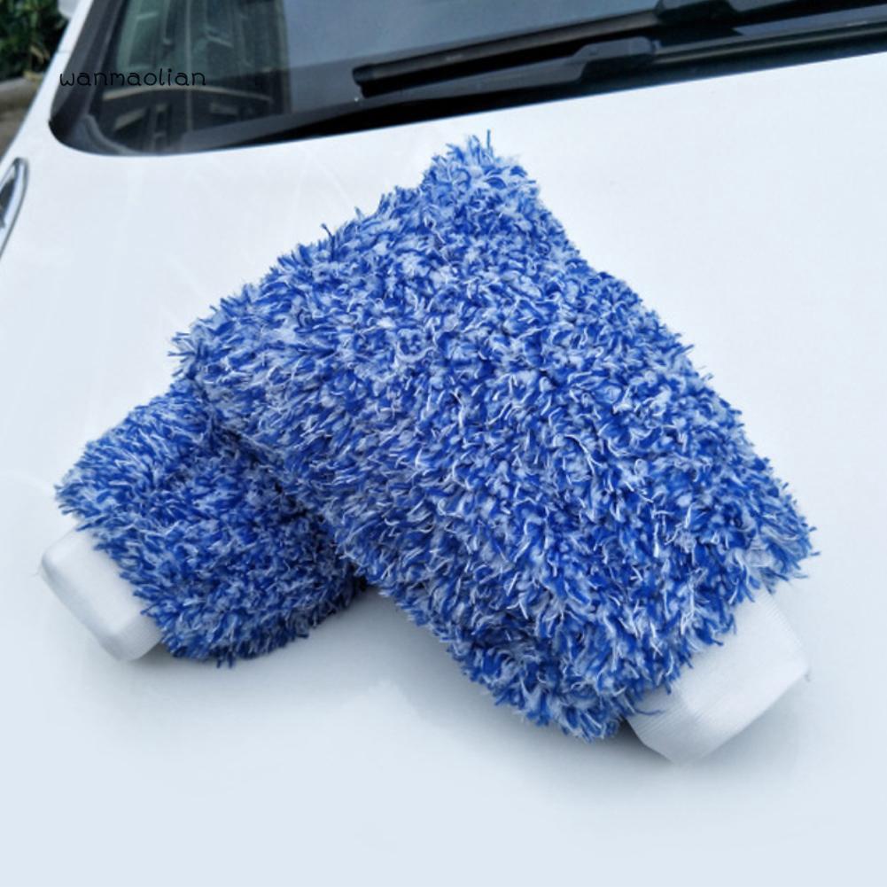 Car Wash Equipment Sponges & Mitts 2Pcs Car Wash Microfiber Sponges Rectangular Microfiber Pads Ultra Soft Automobile Cleaning Sponge Car Exterior Care House Kitchen Cleaning Blue