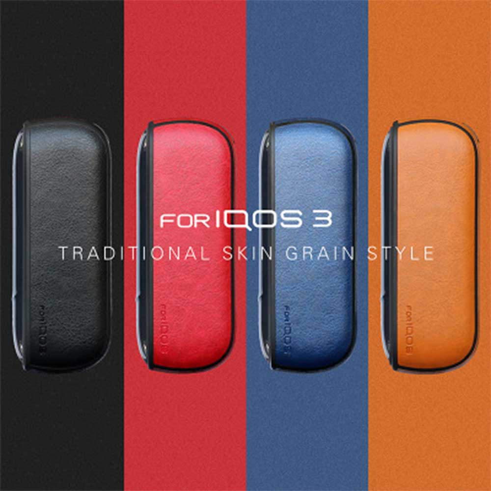 IQOS Four Generation Electronic Cigarette 3 0 Protective Leather Case