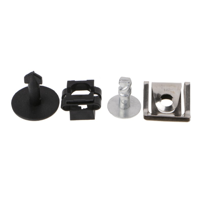 Pins+Clips+Nuts+Washers VW Passat Engine Protection Pan Hardware KIT Audi OEM
