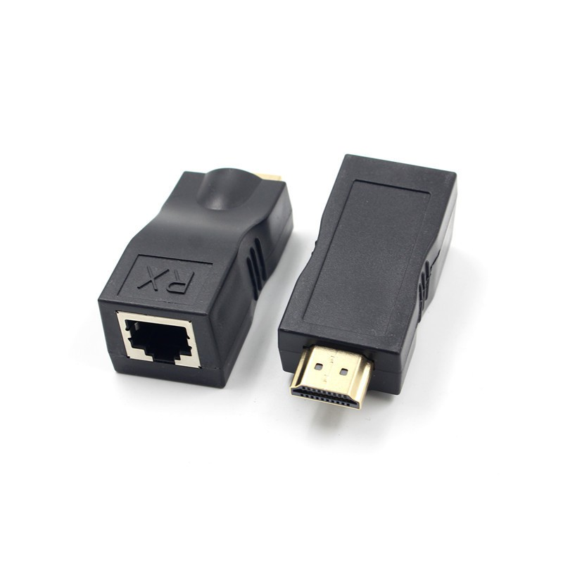 1*Tx+3*Rx Up to 120m,HDMI 1080PNetwork Extender Over Ethernet LAN RJ45 CAT5E//6