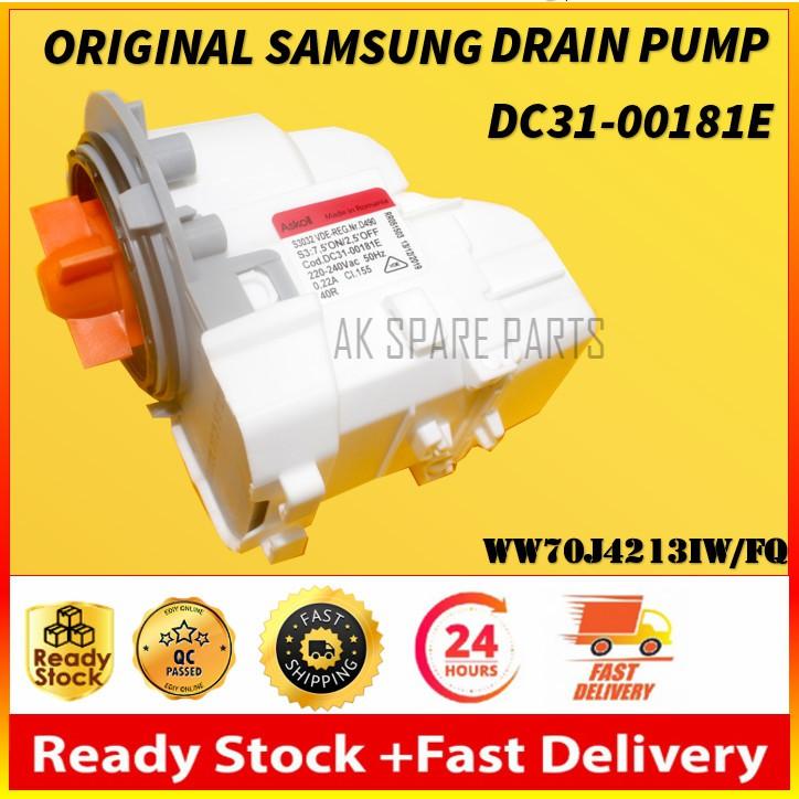 Genuine Samsung Drain Pump DC3100181E