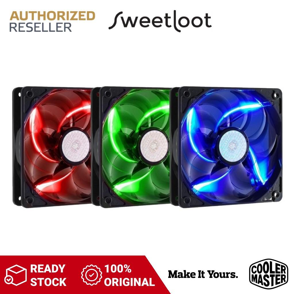 Cooler Master SickleFlow X 120mm Case Fan Red / Blue / Green Sickle Flow LED