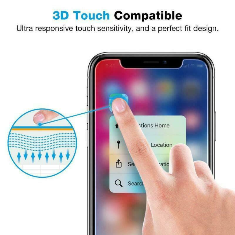 Full Coverage Tempered Glass Clear / Privacy / Blu-ray / Mate for iPhone