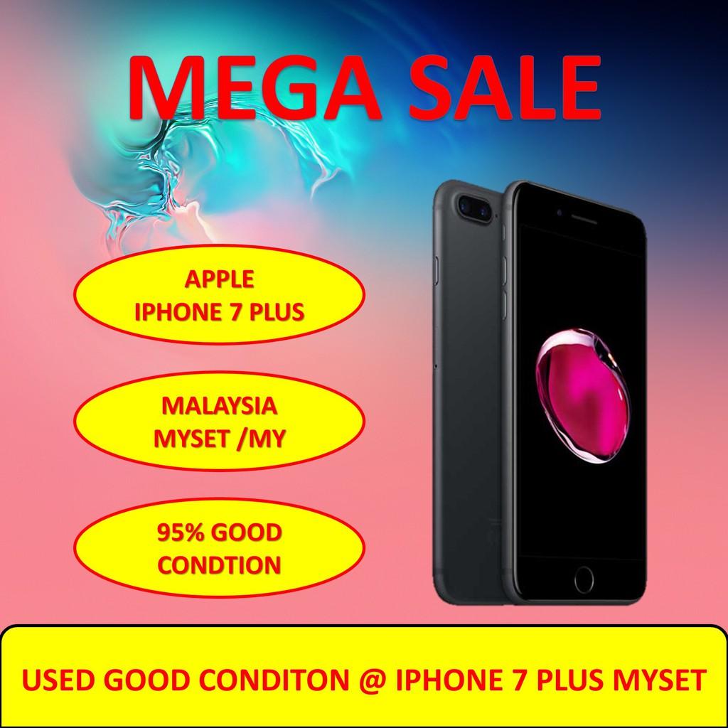 Apple iPhone 7 Plus [100% Original Used Set] - 128GB / 256GB MYSET