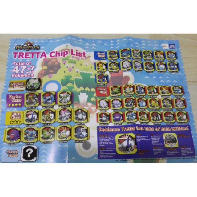 Pokemon Tretta Chips Ver Xerneas Shopee Malaysia