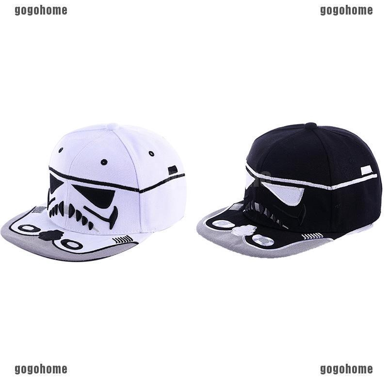 9a1bf3f1b GO❧Star Wars Cavalry Flat Cap Snapback Hip Hop Baseball Hat Tide