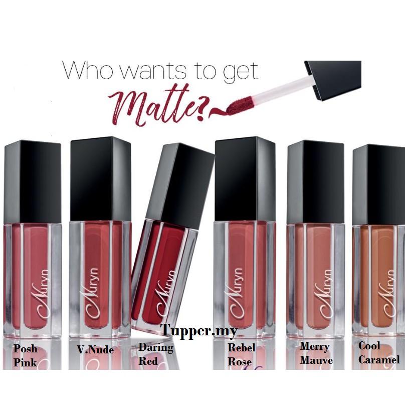 *NEW*Tupperware Nuryn Matte About You Liquid Lipstick Lip 4ml-1pc