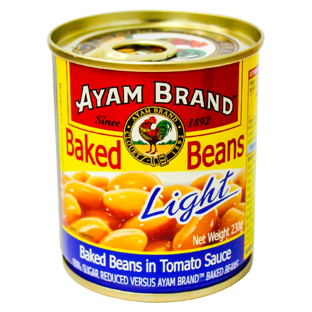 Ayam Brand Baked Beans Light in Tomato Sauce 230g
