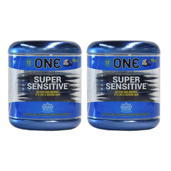 [BUY 1 FREE 1 OFFER] One Condom Super Sensitive Kondom 12pieces X 2