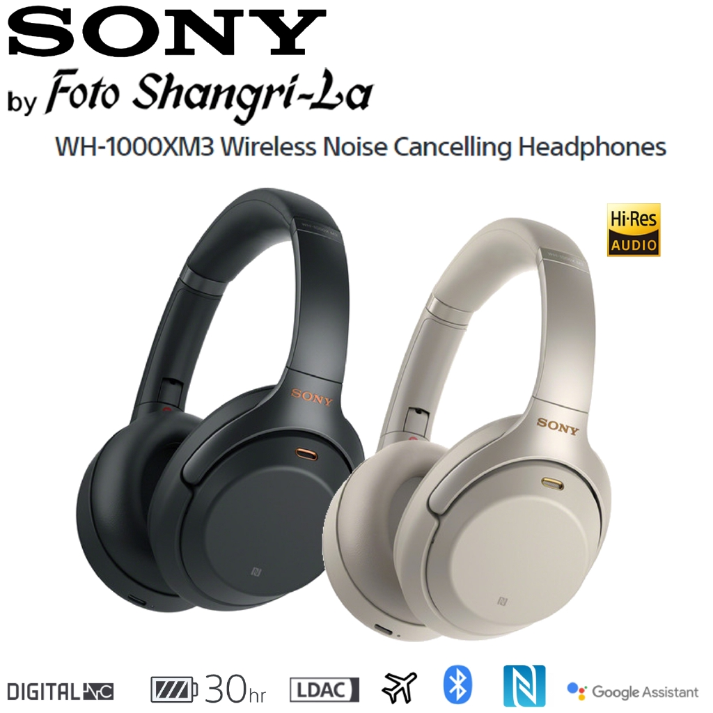 314467c5326 Sony WH-1000XM3 Wireless Noise Cancelling Headphones Over Ear Headsets  Hi-Res | Shopee Malaysia