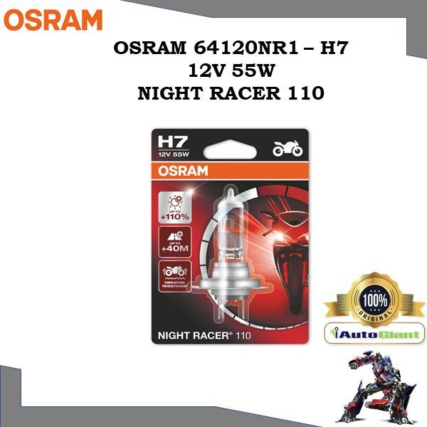 OSRAM 64210NR1 - H7 12V 55W NIGHT RACER 110 LAMPU DEPAN