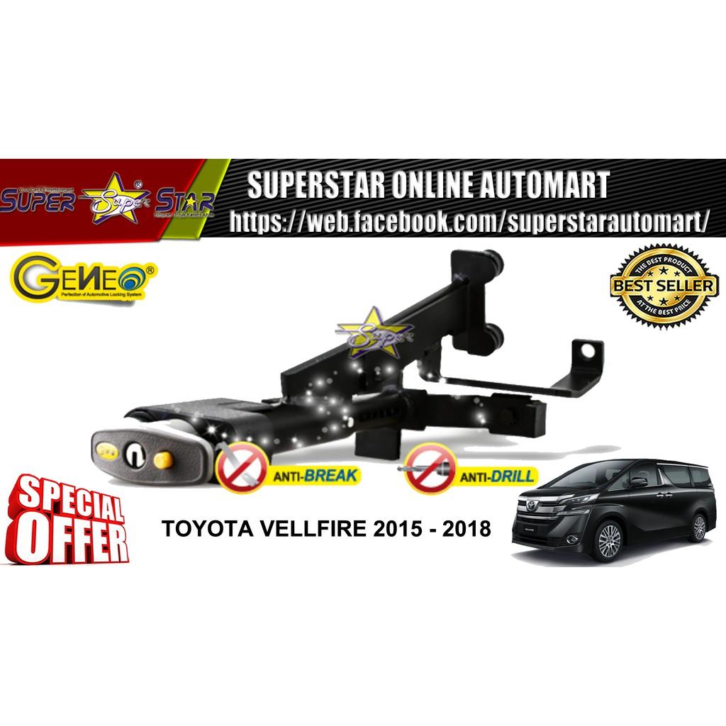 Toyota Vellfire 2015-2018 (A) Push Start Geneo High Security Anti-Theft Brake
