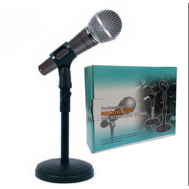 PROFESSIONAL RECORDING MICROPHONE STAND SPECIAL DESIGN FOR HEAVY DUTY CARRY MIC STAND WITHOUT MICROPHONE